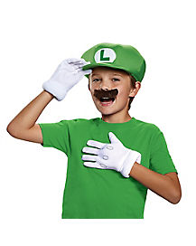 Kids Luigi Costume Kit - Nintendo
