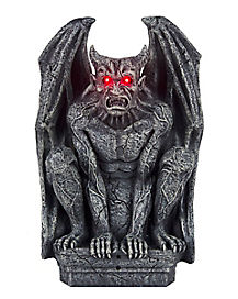 12 Inch Fearsome Gargoyle - Decorations