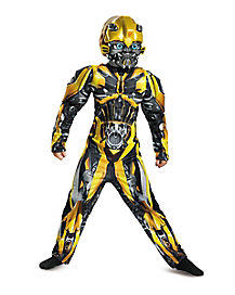 Kids Bumblebee Costume - Transformers The Last Knight