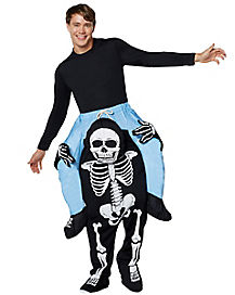 Adult Skeleton Piggyback Costume