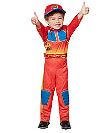 Toddler Lightning McQueen One Piece Costume - Cars