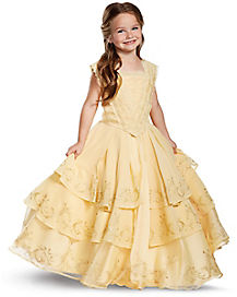 Kids Belle Costume The Signature Collection - Beauty and the Beast Movie  sc 1 st  Spirit Halloween : princess costumes halloween  - Germanpascual.Com