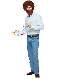 Adult Bob Ross Costume - Firefly