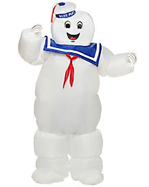 Kids Stay Puft Inflatable Costume - Ghostbusters