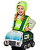 Toddler Garbage Truck Ride-Along Costume - Waste Management