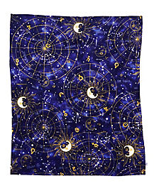 Tarot Card Fleece Blanket