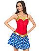 Adult Wonder Woman Corset - DC Comics