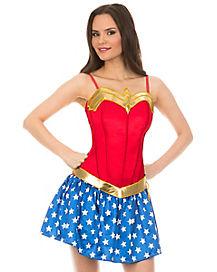 3d4dc9d334f Adult Wonder Woman Corset - DC Comics