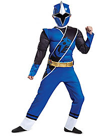 Kids Blue Ranger Costume - Power Rangers Ninja Steel