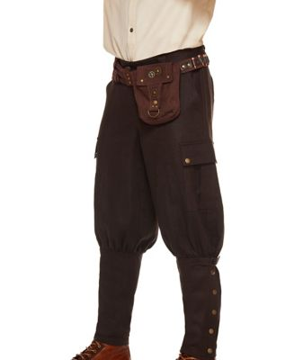 Men's Steampunk Costume Essentials Steampunk Belt by Spirit Halloween $19.99 AT vintagedancer.com