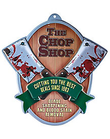 The Chop Shop Sign - Decorations