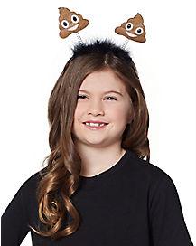 Kids Poop Emoji Headband