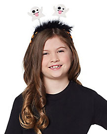 Kids Ghost Emoji Headband