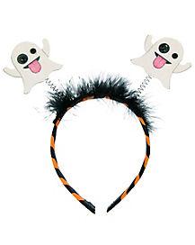 Kids Ghost Emoji Headband