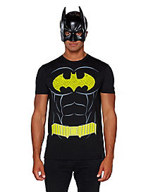 Batman Cape T Shirt - DC Comics