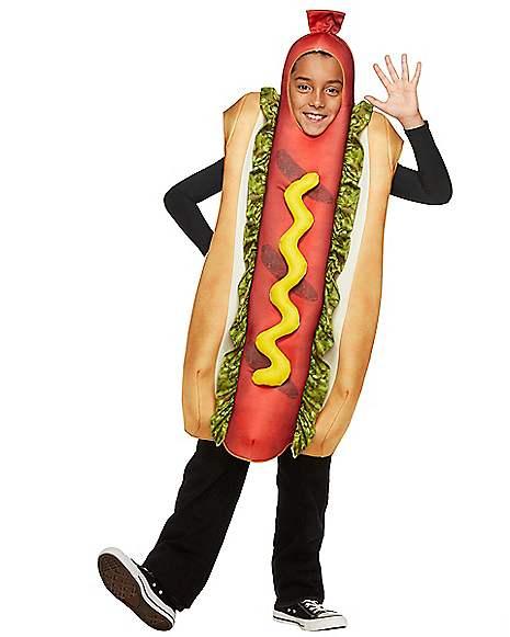 Halloween Hot Dog Costume for Kids Cosplay