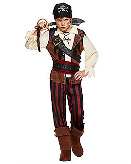 Kids Swashbuckler Pirate Costume