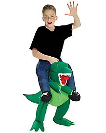 Kids T. rex Piggyback Costume