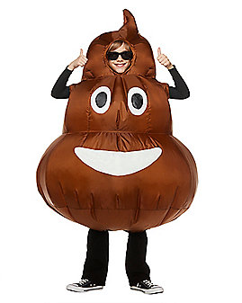 Kids Poop Inflatable Costume - Decorations