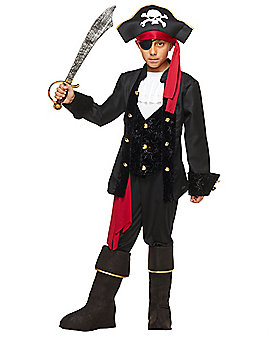 Kids Pirate Captain Costume