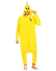 Adult Tweety Bird One Piece Costume - Looney Tunes