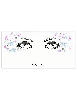 Mermaid Face Decal