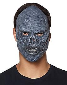 Grey Zombie Flesh Mask