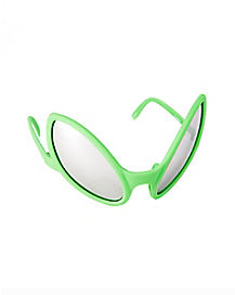 Green Alien Glasses
