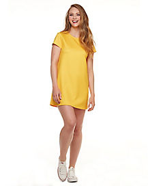Yellow T Shirt Dress