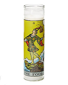 The Fool Tarot Candle