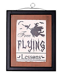 Free Flying Lessons Wall Hanging