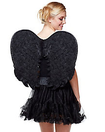 Black Velvet Angel Wings