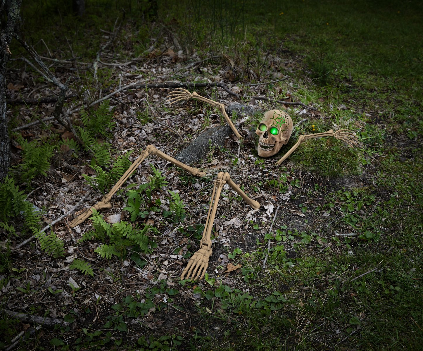 Light Up Skeletal Remains Groundbreaker
