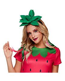 Strawberry Headband and Choker Necklace