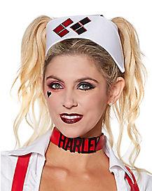 Harley Quinn Arkham Nurse Cap - DC Comics