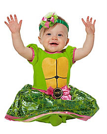 Baby Teenage Mutant Ninja Turtles Dress Costume - Teenage Mutant Ninja Turtles  sc 1 st  Spirit Halloween & Baby Superhero Halloween Costumes for 2018 - Spirithalloween.com