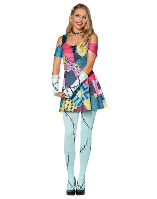 Adult Sally Dress Costume - The Nightmare Before Christmas by Spirit Halloween