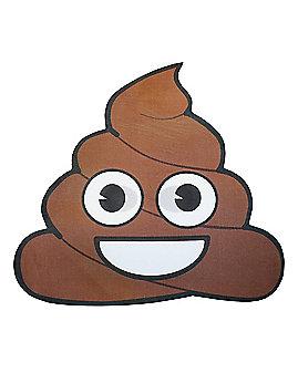 Poop Emoji Half Mask
