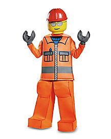 Kids Construction Worker Costume - LEGO