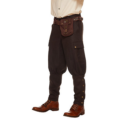 Steampunk Pants Mens Adult Steampunk Pants $34.99 AT vintagedancer.com