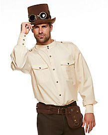 Steampunk Button Down Shirt