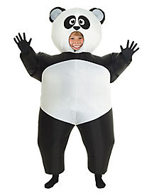Kids Panda Inflatable Costume