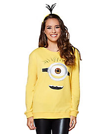 Minion Face Sweater - Despicable Me