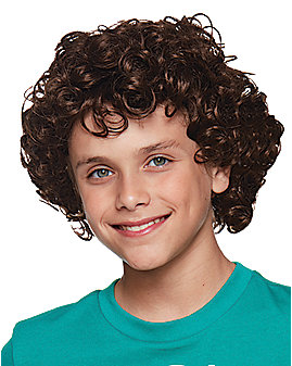 Kids Dustin Henderson Wig - Stranger Things