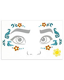 Moana Face Decal Set - Moana