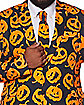 Adult Jack-O-Lantern Plus Size Suit