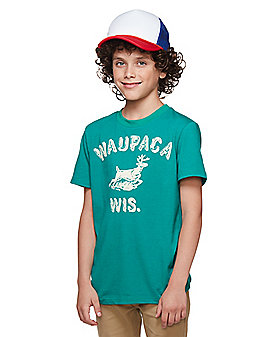 Kids Dustin Henderson T Shirt - Stranger Things