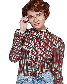 Adult Ruffle Barb Shirt - Stranger Things