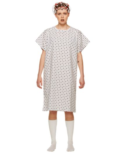 Adult Eleven Hospital Gown Costume - Stranger Things