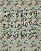 Alphabet Wall Cinch Bag - Stranger Things